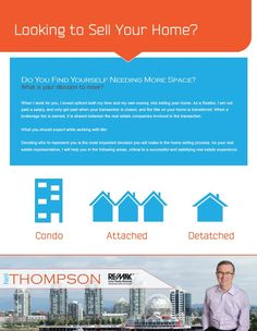 Brochure cover design for REALTOR Neil Thompson (www.neilthompson.remax.ca).   #Vancouver #Real #Estate #Design #Branding #Featuresheets #Buyers #Sellers #Packages #Business #Cards #Mailouts #Brochures #Pamphlets #REALTOR