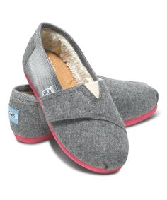 wool plaid toms