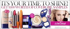 GET #Covergirl MakeUp Samples #Free Makeup samples are a great way to try out new products !