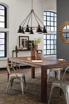 Dining table lighting ideas Hgtv Towner 7 Light Chandelier By Sea Gull Lighting Brings Midcentury Retro Pinterest 64 Best Dining Room Lighting Ideas Images Dining Room Lighting