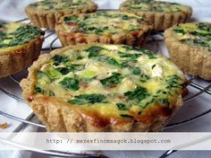 Quiche, Tart Recipes, Healthy Recipes, Healthy Meals, Pizza, Grilling, Deserts, Food Porn, Paleo
