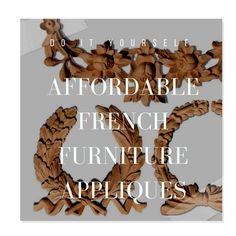 View some of their collections, here. Ari's Luxury offers a very nice selection of 24k gold plated embellishments that can be glued,pined or nailed at a very
