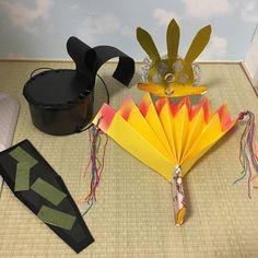 【アプリ投稿】ひなまつり お雛様製作 | みんなのタネ | あそびのタネNo.1[ほいくる]保育や子育てに繋がる遊び情報サイト Origami, Paper Crafts, Activities, Kids, School, Paper Crafting, Toddlers, Boys, Tissue Paper Crafts