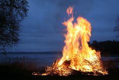 fuego, hoguera, candela, noche, lago, calidez, 1702240816