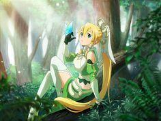 Leafa Sword Art Online, Sword Art Online Cosplay, Arte Online, Online Art, Leafa Sao, Sword Art Online Wallpaper, Accel World, Fanart, Anime Angel