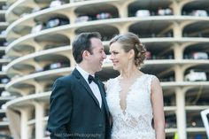 Another fun image from Brad & Olga's wedding at the Langham! - Neil Stern #Photography #chicago # wedding