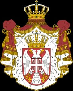The Serbian National Coat of Arms.