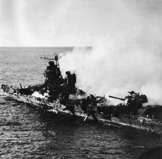 IJN Mogami Class Heavy Cruiser after Battle of Midway (picture is commonly associated with the Mikuma)