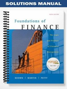 Solutions manual for introduction to managerial accounting 7th solutions manual for foundations of finance the logic and practice of financial management 6th edition by keown fandeluxe Choice Image