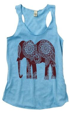 Elephant Tank Top <3