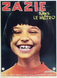 ZAZIE dans le métro. Fantastic film!