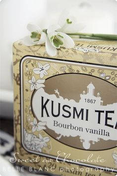 bOurbOn vanilla love this brand of tea  found in europe...buy on line love