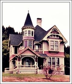 I will live in a Victorian home one day!