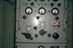 USS Forrest Sherman DD-931. HF Transmitter In The Aft Auxiliary Radio Room. I Was Not A Radioman By Rating, But Was A Licensed Amateur Radio Operator And I actually Put This Transmitter On The Air On The 20 Meter Amateur Radio Band While In The Mediterranean Sea In An Attempt To Run Phone Patch Traffic Back To The US Mainland To Contact The Chief Radiomen's Wife And Family!
