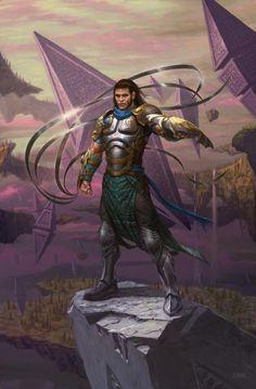 Gideon - Battle for Zendikar - Art for Magic the Gathering Character Concept, Character Art, Concept Art, Character Design, Grimm, Magic The Gathering Sets, Mtg Art, Arte Tribal, Fantasy Armor