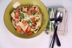 the chew | Recipe  | Mario Batali's Tomato Ricotta Testaroli