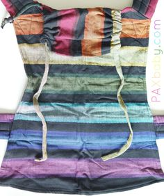 2f2bd638967 Girasol MySol Exclusive Corrina s Rainbow Herringbone Weave  cuervo  Woven  Wrap