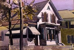 Edward Hopper, Marty Welch's House. See The Virtual Artist gallery: www.theartistobjective.com/gallery/index.html
