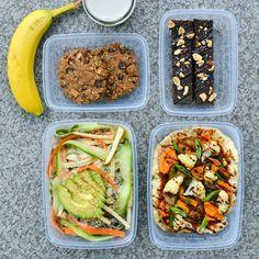 Vegan Meal Prep   Week 2