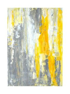 """Excellent """"contemporary abstract art painting"""" info is available on our web pages. Art Sur Toile, Wal Art, Modern Art Movements, Contemporary Abstract Art, Modern Contemporary, Yellow Painting, Yellow Artwork, Watercolor Artists, Hanging Art"""