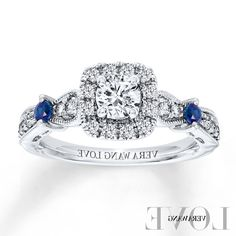 Vera Wang Love Collection Diamond Engagement Ring