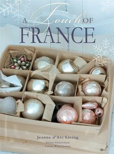 """*PRE-ORDER* Brand New Christmas Book! Jeanne d'Arc Living """"A Touch Of France"""""""