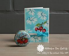 Gorgeous card --- love the white embossed flowers with a pop of color