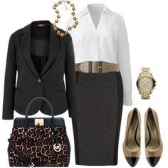 Work Dress - Plus Size - Polyvore