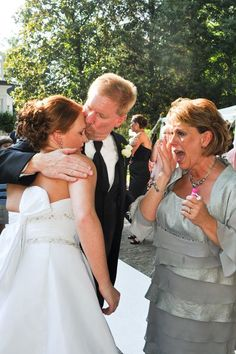Don't be afraid to cry — emotional moments make the best pictures!Photo Credit: Fotowerks Custom Photography