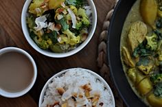Vegetarian curry Vegetarian Curry, Kitchen Stories, Jamie Oliver, Palak Paneer, Guacamole, Cooking, Ethnic Recipes, Food, Vegan Curry