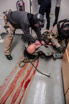 Tactical Combat Casualty Care NAEMT training