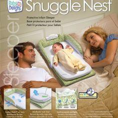 Snuggle Nest Infant Protective-Sleeper   MonsterMarketplace.com