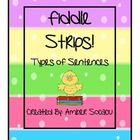 Fiddle Strips! for Types of Sentences with a Spring Theme, is an engaging game for students to play at Literacy Centers. Students can challenge eac...