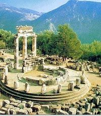 Delphi, Greece. I would love to see the pillars of hercules