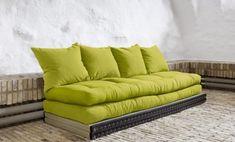 Los sofás cama, divanes y sillones convertibles de la firma danesa Karup encajan en cualquier ambiente de la casa. Outdoor Sofa, Outdoor Furniture, Outdoor Decor, Convertible, Bean Bag, Decor Ideas, Couch, Google, Home Decor