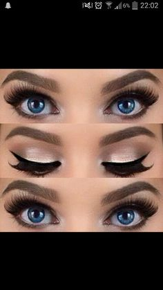 Make up. Look at those pageant ready lashes! http://thepageantplanet.com/category/hair-and-makeup/