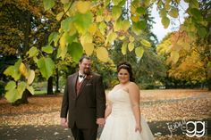 fall wedding at marymoor park by jenny gg