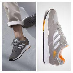 Adidas Originals Tech Super (Grey Rock   Joy Orange   Running White) 4adb85496a