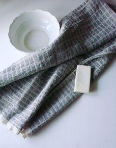 Linen towel natural linen spa towel bath by LinenWoolRainbow