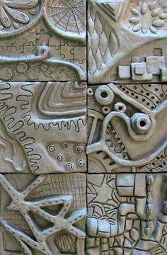 Wonderful Images Ceramics projects high school Tips Zentangle Inspired Relief Sculpture – Conway High School Art Project Sculpture Lessons, Sculpture Projects, Ceramics Projects, Sculpture Clay, Cardboard Sculpture, Abstract Sculpture, Middle School Art, Art School, School Tips