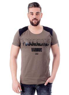 Modagen.com | Erkek Giyim, Erkeklere Özel Alışveriş Sitesi ~ Yeni Sezon Haki Yeşil Erkek Tişört
