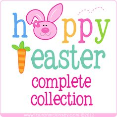 hoppy easter collection from Lauren McKinsey!