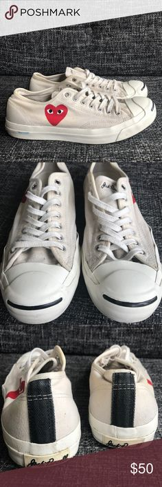 46d85a59cb70 Selling this Converse X Comme des Garcons Jack Purcell sz11 on Poshmark! My  username is