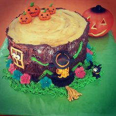 Tarta cumpleaños Halloween