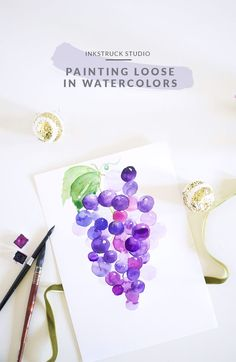 PAINTING LOOSE IN WATERCOLORS-A DETAILED TUTORIAL