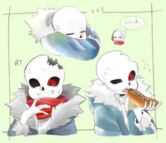 Horror Sans, Drarry Fanart, Undertale Comic Funny, Kawaii, First Humans, Cute Drawings, Game Art, Geek Stuff, Animation