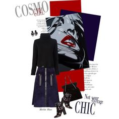 Cosmo Girl by merlothues on Polyvore featuring Proenza Schouler, Derek Lam, Isabel Marant, Tomas Maier, Monies, The Artwork Factory