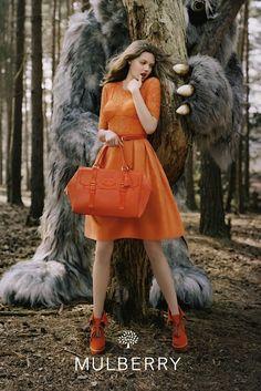 Fashion Bridge: Mulberry A/W 12 Ad Campaign