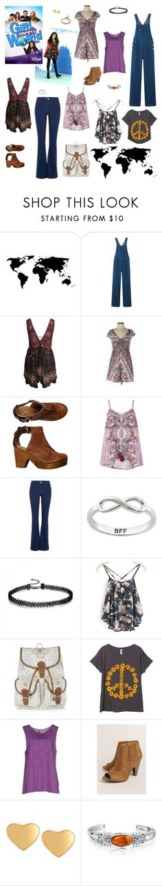 """""""Girl Meets World - Riley Matthews Inspired Outfits"""" by verostyle16 ❤ liked on Polyvore featuring Disney, Free People, Monsoon, River Island, Eternally Haute, Colmar, T Tahari, Bling Jewelry and Chan Luu"""