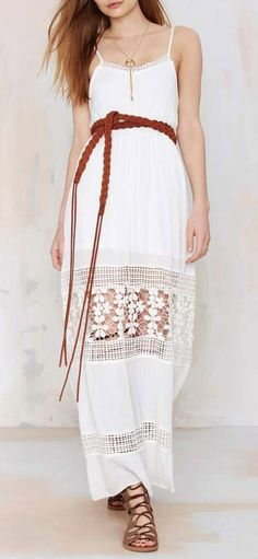 Wilde Heart Celestial Crochet Dress